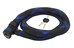 ABUS Ivera Steel-O-Flex 7200/110 Zapięcie kablowe  czarny